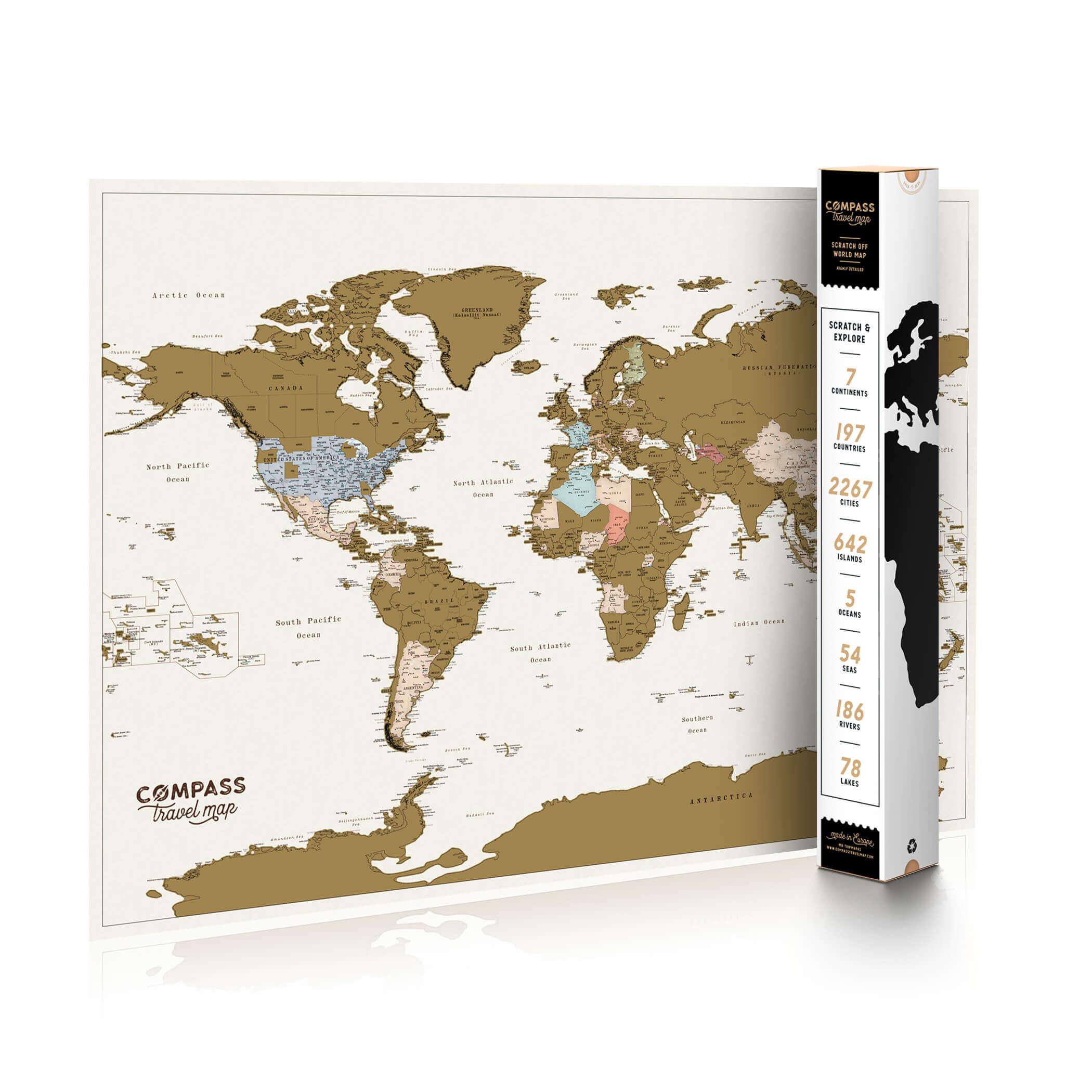 compass nutrinamas pasaulio zemelapis
